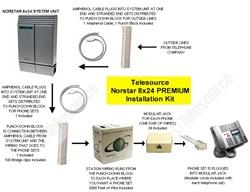 norstar 8x24 system installation kit premium