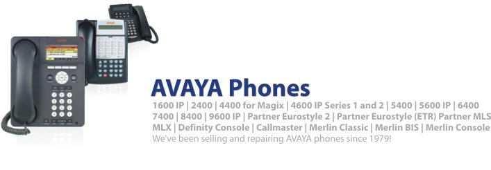 AVAYA Phone Catalog - Find individual AVAYA Phones by AVAYA Phone