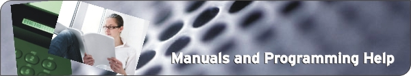 Manuals and Programming Help from TSRC.com
